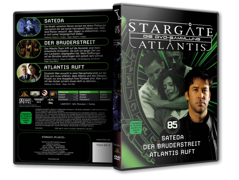 Stargate - DVD-Magazin-Sammlung - 85