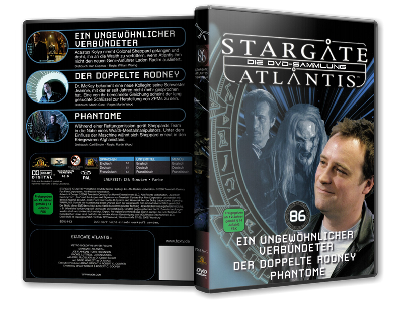Stargate - DVD-Magazin-Sammlung - 86