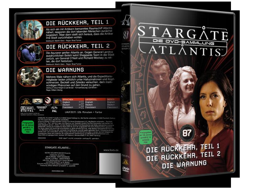 Stargate - DVD-Magazin-Sammlung - 87