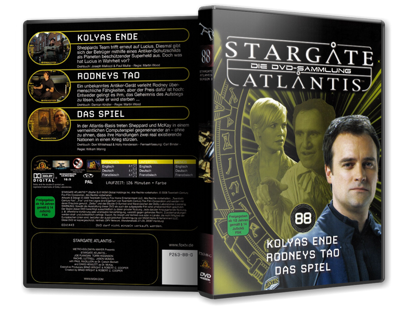Stargate - DVD-Magazin-Sammlung - 88