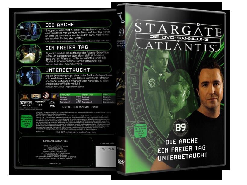 Stargate - DVD-Magazin-Sammlung - 89
