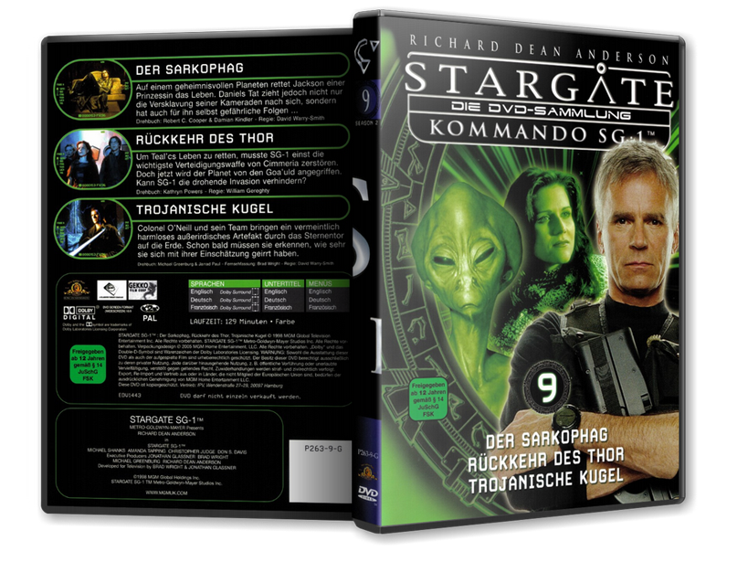 Stargate - DVD-Magazin-Sammlung - 9