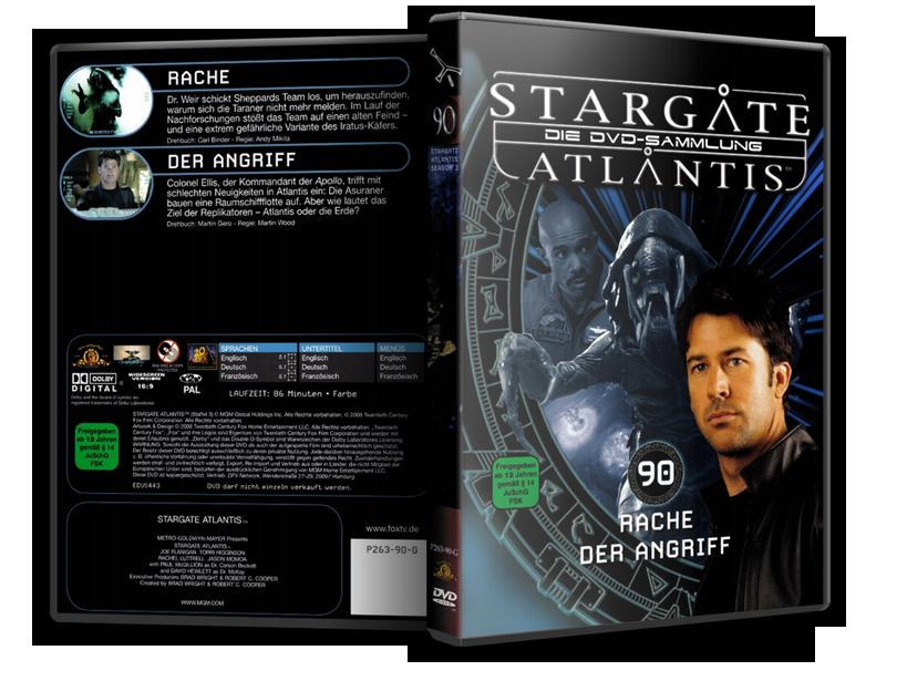 Stargate - DVD-Magazin-Sammlung - 90