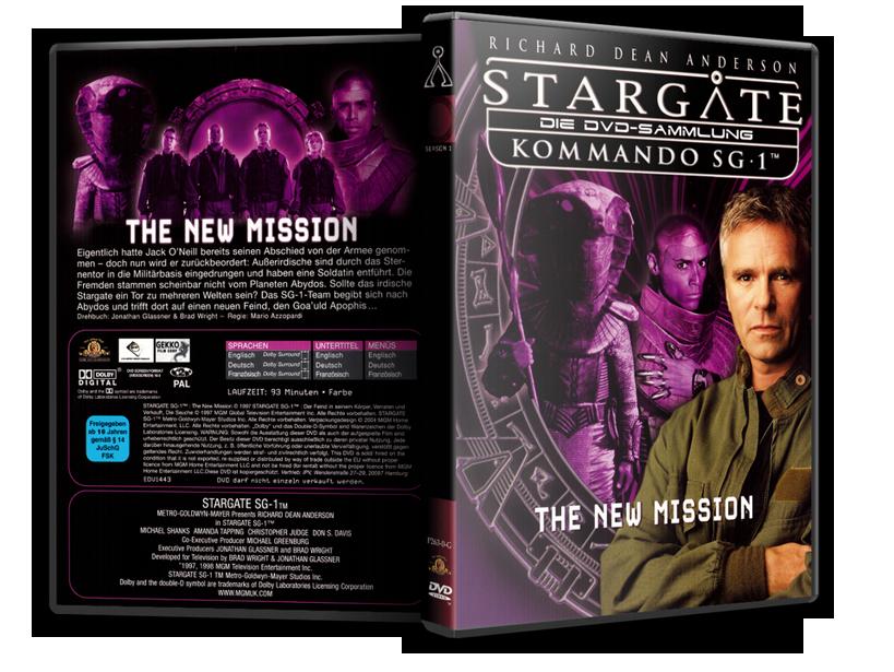 Stargate - DVD-Magazin-Sammlung - Pilot