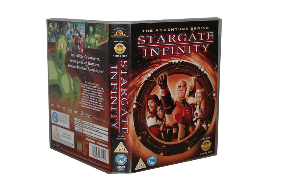 Stargate Infinity - DVD-Box Cover - Front - 2