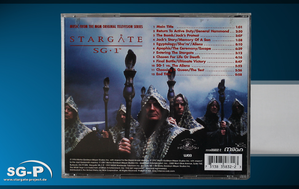 Soundtrack Stargate SG-1 - 2