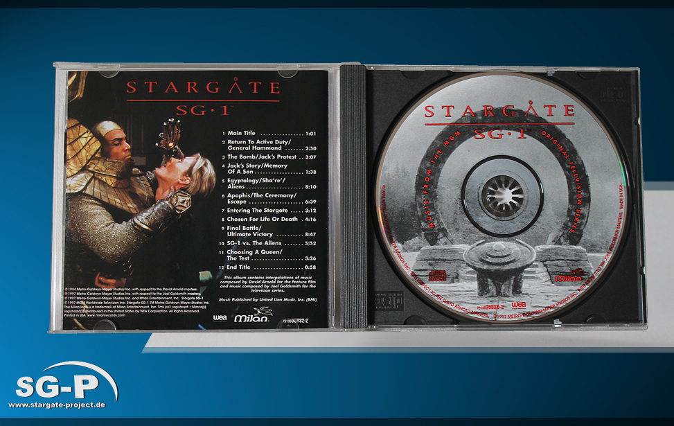 Soundtrack Stargate SG-1 - 3