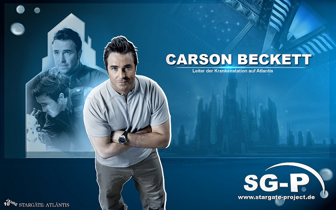 Wallpaper - SG-P - Stargate Atlantis - Carson Beckett - Paul McGillion - 1