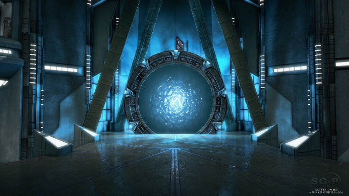 Wallpaper - SG-P - Stargate Atlantis - Gatetrium