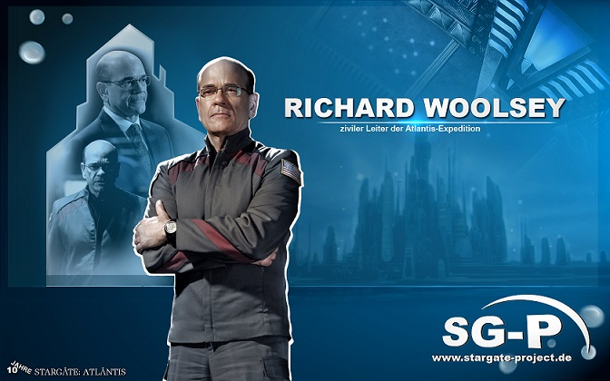 Wallpaper - SG-P - Stargate Atlantis - Richard Woolsey - Robert Picardo