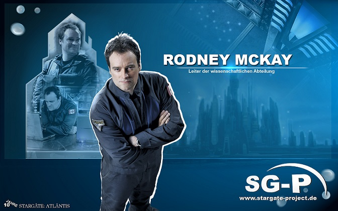 Wallpaper - SG-P - Stargate Atlantis - Rodney McKay - David Hewlett - 1