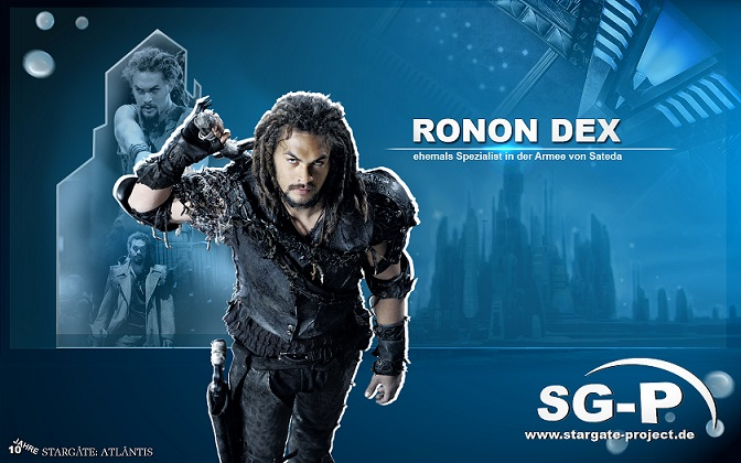 Wallpaper - SG-P - Stargate Atlantis - Ronon Dex - Jason Momoa
