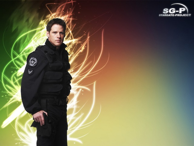 Wallpaper - SG-P - Stargate SG-1 - Cameron Mitchell - Ben Browder