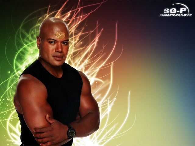 Wallpaper - SG-P - Stargate SG-1 - Teal'c - Christopher Judge