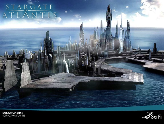 Wallpaper - Stargate Atlantis - Atlantis - 2