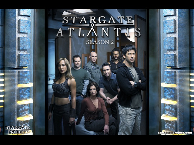 Wallpaper - Stargate Atlantis - Team 1