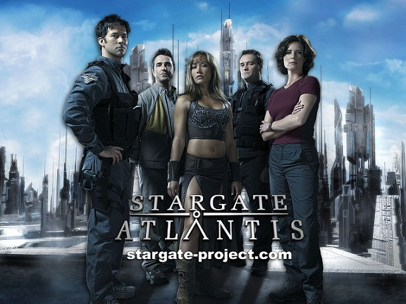 Wallpaper - Stargate Atlantis - Team 2