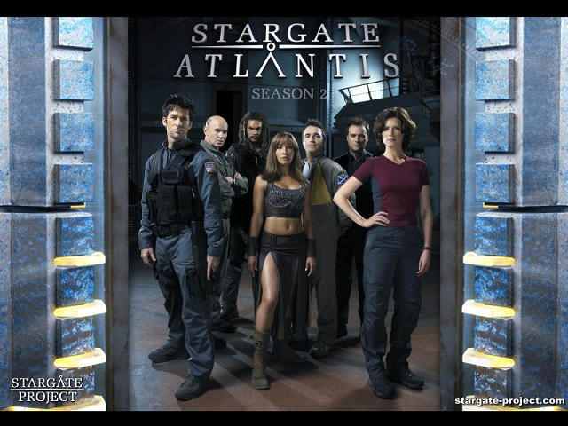 Wallpaper - Stargate Atlantis - Team 3