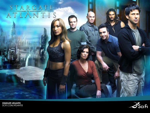 Wallpaper - Stargate Atlantis - Team 4